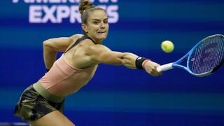 US Open: Ήττα και από αποκλεισμός από τον τελικό για τη Μαρία Σάκκαρη