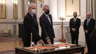 Χρήστος Στυλιανίδης: Ορκίστηκε ο νέος υπουργός Κλιματικής Κρίσης και Πολιτικής Προστασίας