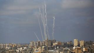 Ισραήλ: Μαχητικά αεροσκάφη έπληξαν εγκαταστάσεις της Χαμάς στη Γάζα