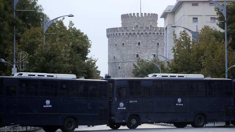 ΔΕΘ 2021: «Φρούριο» η Θεσσαλονίκη ενόψει των συγκεντρώσεων