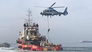 ΔΕΘ 2021: Εντυπωσιακή άσκηση στον Θερμαϊκό με «πειρατεία πλοίου» και διάσωση από το Λιμενικό