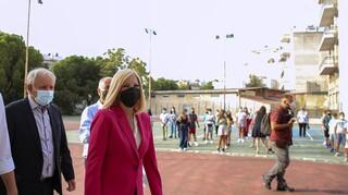 Γεννηματά για νέα σχολική χρονιά: Δεν πάρθηκε κανένα μέτρο προφύλαξης