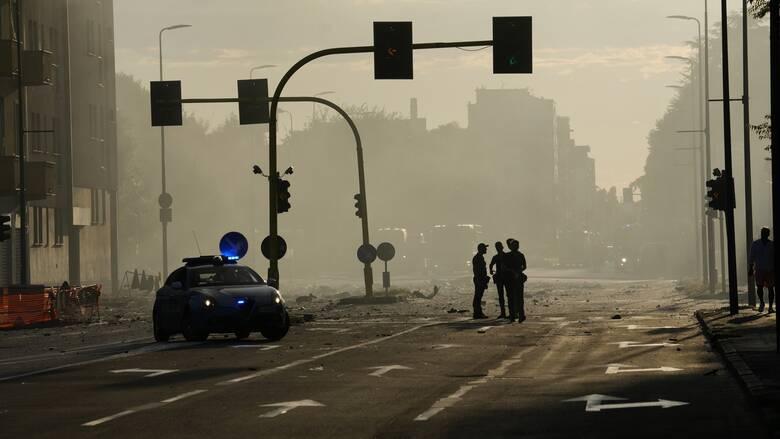 Ιταλία: Έκρηξη σε πολυκατοικία στην Ρώμη λόγω διαρροής φυσικού αερίου -Τρεις τραυματίες