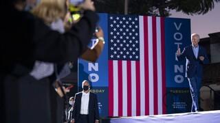 ΗΠΑ: Στην πολιτική αρένα της Καλιφόρνια «ρίχτηκε» ο Μπάιντεν κόντρα σε «κλώνο» του Τραμπ