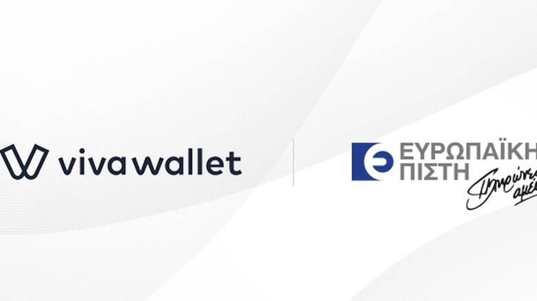Ευρωπαϊκή Πίστη – Το Viva Wallet POS app στην υπηρεσία του Δικτύου Πωλήσεων της Εταιρίας