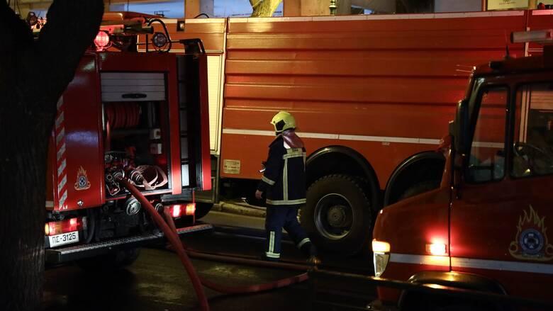 Φωτιά στα νεόκτιστα Ασπροπύργου - Δεν απειλείται κατοικημένη περιοχή