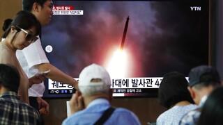 Βόρεια Κορέα: Νέες δοκιμαστικές εκτοξεύσεις πυραύλων