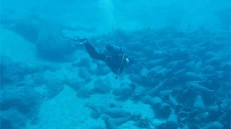 Εντυπωσιακά ευρήματα κατά την υποβρύχια έρευνα στον κόλπο Παλαικάστρου Σητείας