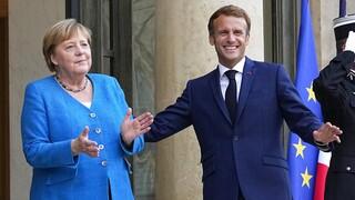 Γαλλία: Επίσκεψη Μέρκελ στον Μακρόν, αλλά δεν ήταν «αποχαιρετισμός»