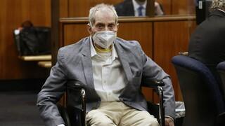 Ισόβια στον μεγιστάνα κληρονόμο Ρόμπερτ Νταρστ - Είχε ομολογήσει κατά λάθος στην τηλεόραση 3 φόνους