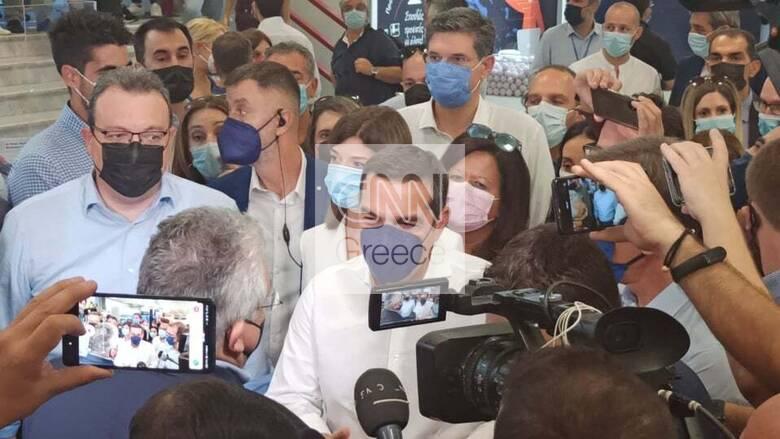 ΔΕΘ 2021: Στη Θεσσαλονίκη ο Αλέξης Τσίπρας - Η επίσκεψη στα περίπτερα της Έκθεσης