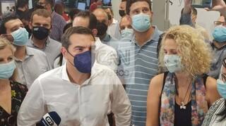 ΔΕΘ 2021 - Τσίπρας: Η ανασφάλεια είναι το συναίσθημα που πλημμυρίζει τους Έλληνες