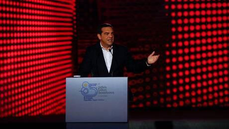 ΔΕΘ - Τσίπρας: Υποσχέθηκε «μία νέα αρχή», κατώτατο μισθό 800 ευρώ, διαγραφή χρέους, μεταρρυθμίσεις