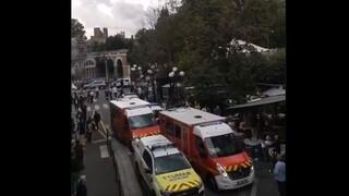 Γαλλία: Συναγερμός για αυτοκίνητο που έπεσε σε θαμώνες καφετέριας