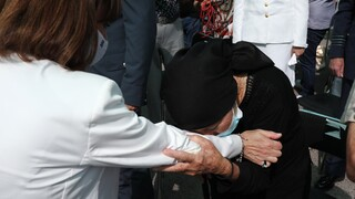 Κατερίνα Σακελλαροπούλου: Η συγκίνηση της ΠτΔ σε εκδήλωση για το Ολοκαύτωμα της Βιάννου
