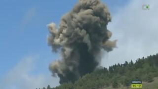 Ισπανία: Έκρηξη ηφαιστείου στη νήσο Λα Πάλμα - Απομακρύνθηκαν κάτοικοι