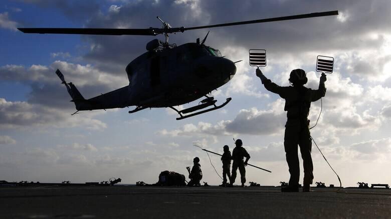 Λιβύη: Συγκρούστηκαν στον αέρα στρατιωτικά ελικόπτερα του Χάφταρ - Δύο νεκροί