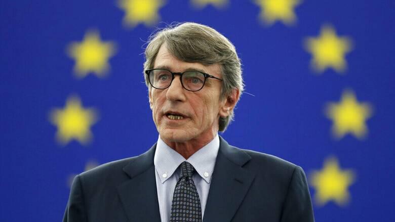 Στο νοσοκομείο με πνευμονία νοσηλεύεται ο πρόεδρος του Ευρωπαϊκού Κοινοβουλίου