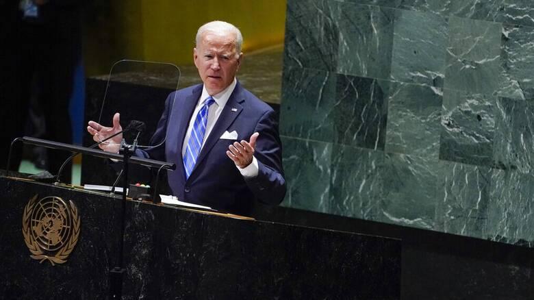 Μπάιντεν στον ΟΗΕ:  Η Αμερική της «αδιάκοπης διπλωματίας» και όχι του «αδιάκοπου πολέμου»
