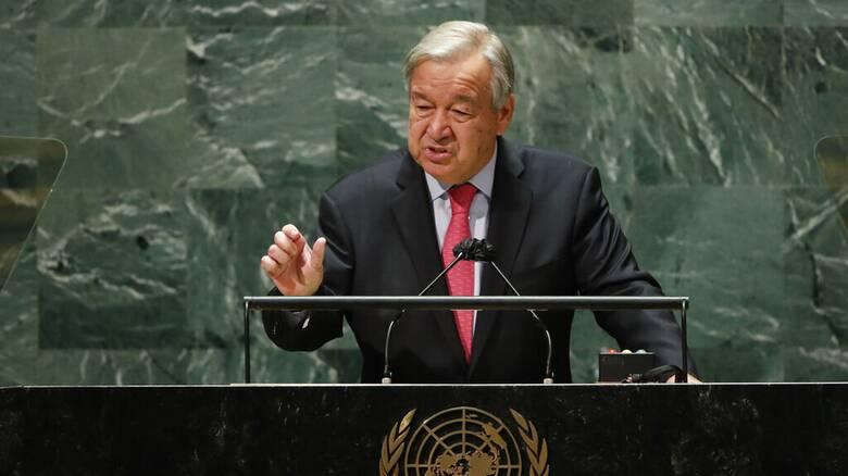 Σινο-αμερικανική «ειρήνη» ζητά ο Αντόνιο Γκουτέρες από το βήμα της Γενικής Συνέλευσης του ΟΗΕ