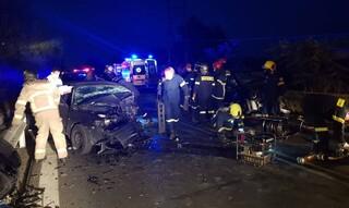 Σοβαρό τροχαίο: Σύγκρουση τριών οχημάτων με έναν νεκρό στον Άγιο Στέφανο