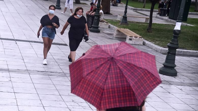 Καιρός: Αισθητή πτώση θερμοκρασίας - Βροχές στο μεγαλύτερο μέρος της χώρας