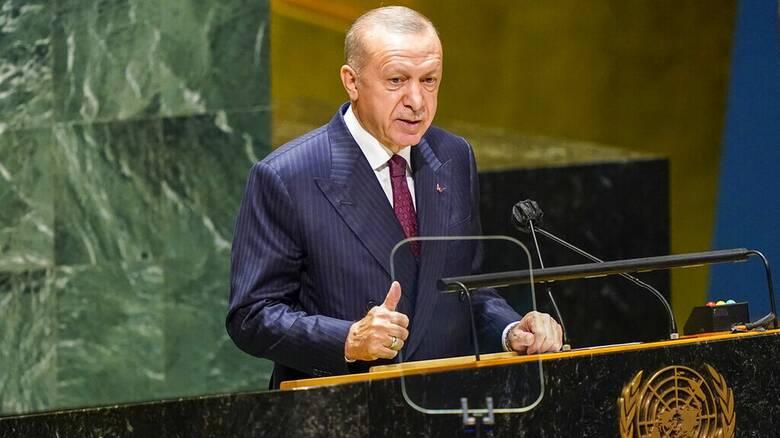 Ερντογάν: Μηνύματα από τον ΟΗΕ για προσφυγικό, Κυπριακό και Αν. Μεσόγειο