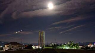 Μετεωρίτης «έσκισε» τον ουρανό της Ελλάδας- Η πτώση του έγινε ορατή σε πολλά σημεία της χώρας