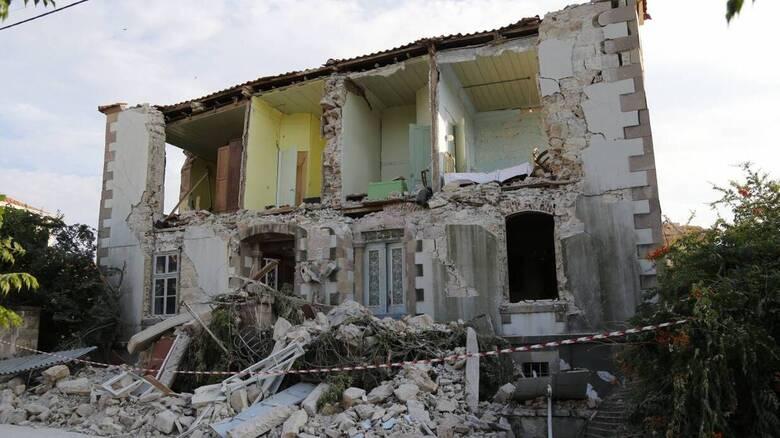 Τριετής απαλλαγή από τον ΕΝΦΙΑ για σεισμόπληκτα ακίνητα