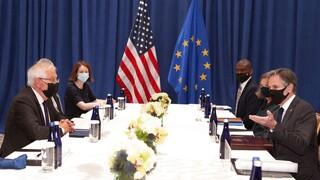 AUKUS: Σε «επιχείρηση ενίσχυσης εμπιστοσύνης» καλεί ο Μπορέλ ενώπιον του Μπλίνκεν στον ΟΗΕ