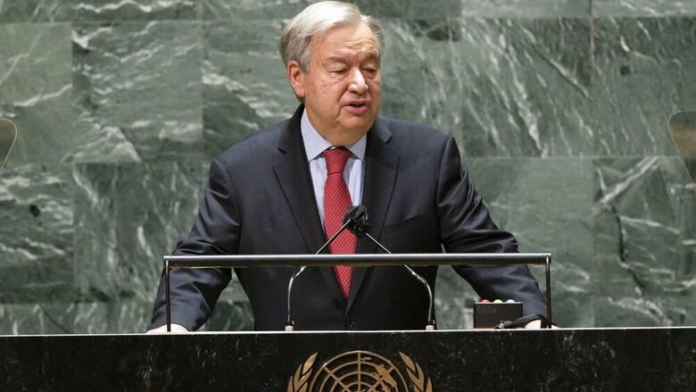 Γκουτέρες για Αφγανιστάν: Τα μόνιμα μέλη του Συμβουλίου Ασφαλείας θέλουν σταθερότητα στη χώρα
