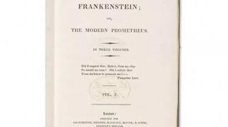 Πρώτη έκδοση του «Frankenstein» της Μέρι Σέλεϊ σπάει ρεκόρ σε δημοπρασία: 1,17 εκατομμύρια δολάρια