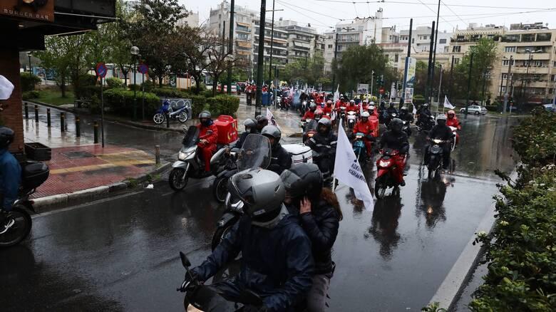 Εικοσιτετράωρη απεργία την Παρασκευή στον κλάδο εστίασης και των διανομέων