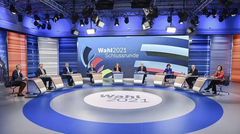 Εκλογές στη Γερμανία: Έκλεισε η «ψαλίδα» της διαφοράς - Debate υποψηφίων... για την κλιματική αλλαγή