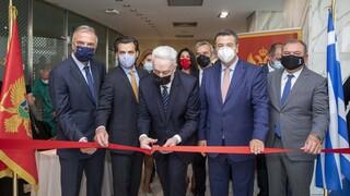 Ιστορικής σημασίας εγκαίνια Προξενείου Μαυροβουνίου στη Θεσσαλονίκη