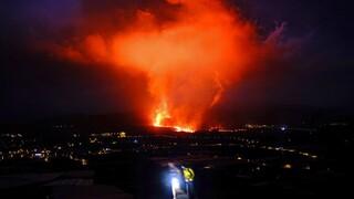 Λα Πάλμα: Εντείνεται η ηφαιστειακή δραστηριότητα - Ποτάμια λάβας