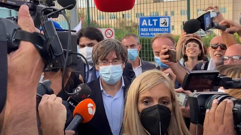 Ιταλία - Κάρλες Πουτζντεμόν:  Αποφυλακίστηκε ο Καταλανός ηγέτης