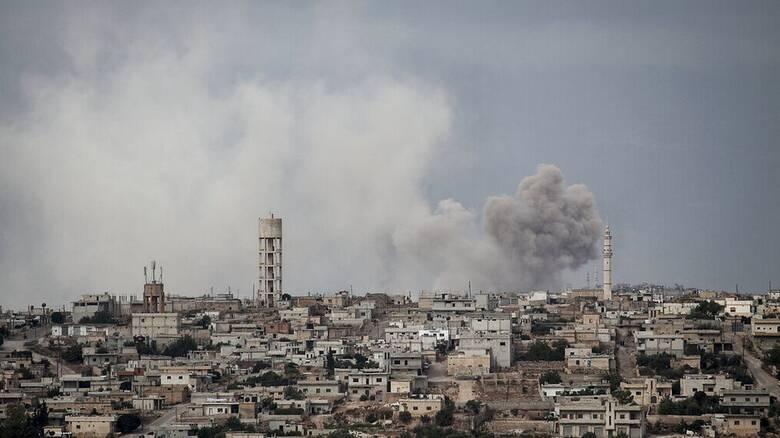 Συρία: Ρωσικά αεροσκάφη έπληξαν θέσεις ανταρτών υποστηριζόμενων από την Τουρκία