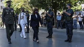 Η Κ.Σακελλαροπούλου στις εκδηλώσεις για την άλωση της Τριπολιτσάς