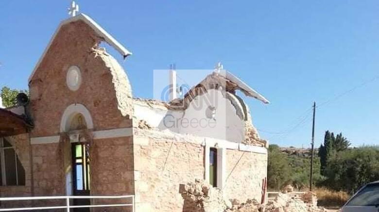 Σεισμός στην Κρήτη: Φονικό πέρασμα του Εγκέλαδου με έναν νεκρό, τραυματίες και υλικές ζημιές