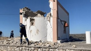 Σεισμός Κρήτη: Το θύμα είχε αναλάβει την αναστήλωση της εκκλησίας που κατέρρευσε