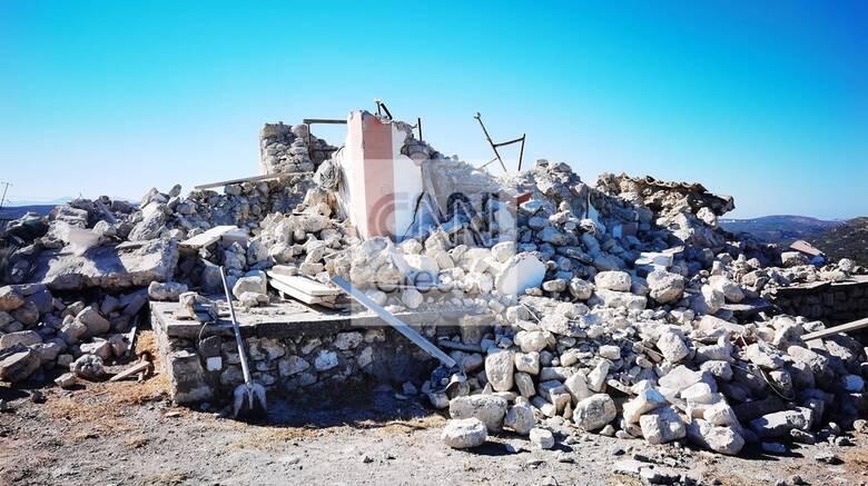 Σεισμός στην Κρήτη: Εκτεταμένες ζημιές στο Αρκαλοχώρι - Μήνυμα 112 στους κατοίκους Ηρακλείου