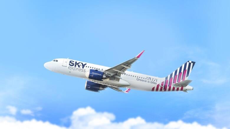 SKY express: Απευθείας πτήσεις εξωτερικού από τη Θεσσαλονίκη