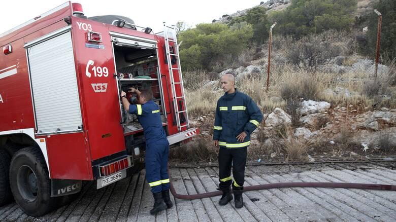 Φωτιά στα Σπάτα κοντά στο εκπτωτικό χωριό - Δυνάμεις της Πυροσβεστικής στο σημείο