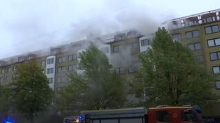 Έκρηξη σε πολυκατοικία στη Σουηδία: Δεκάδες τραυματίες