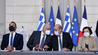 Παρλί: Τεκμήριο μίας φιλόδοξης ευρωπαϊκής άμυνας η συμφωνία με την Ελλάδα