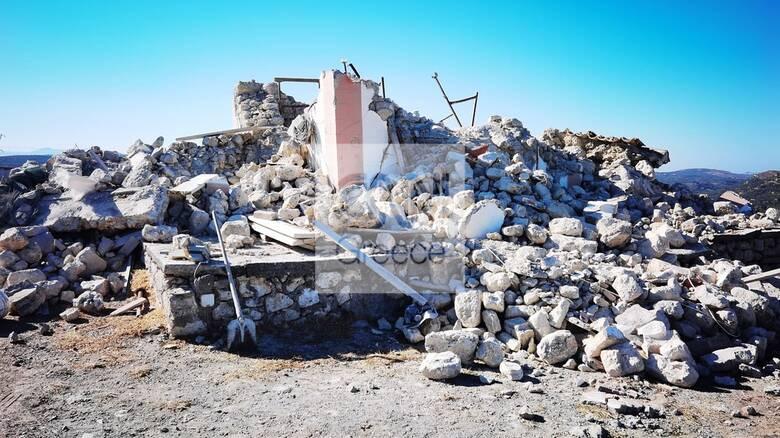 Ηράκλειο: Ηλικιωμένη έσπασε το χέρι της την ώρα του νέου σεισμού