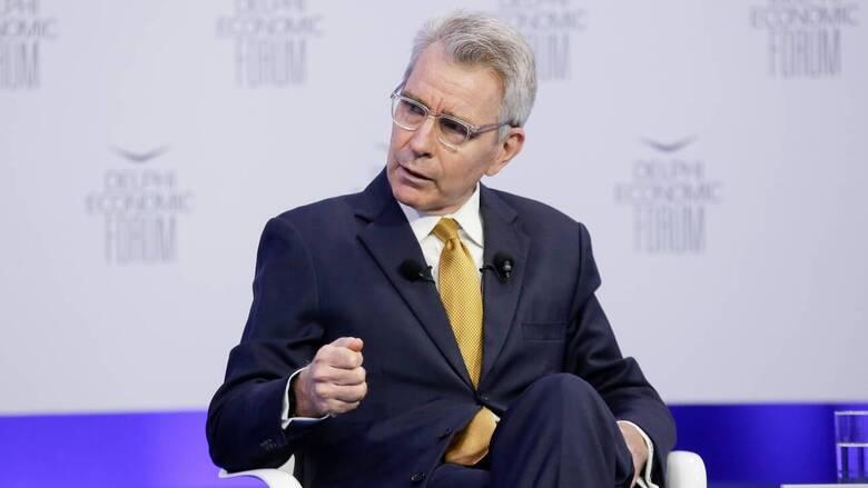 Πάιατ: Κρίσιμος ο ρόλος της Ελλάδας για την ενεργειακή ασφάλεια στην Ανατολική Ευρώπη