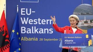 Έκκληση Φον ντερ Λάιεν για εκτόνωση της έντασης στο βόρειο Κόσοβο