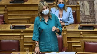 Καταδίκασε τα επεισόδια στη Σταυρούπολη η Ζέττα Μακρή στη Βουλή